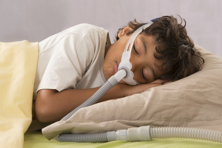 CPAP device for child